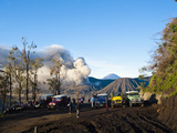 Tourist Jeep Tour at Mount Bromo, Bromo Tengger Semeru National Park, East Java, Indonesia Photographic Print by Matthew Williams-Ellis