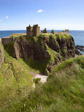 Dunnottar Castle Near Stonehaven, Aberdeenshire, Scotland, United Kingdom, Europe Photographic Print by Mark Sunderland