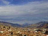 Cusco and Mountains, Peru, Peruviann, Latin America, Latin American South America Photographic Print by Simon Montgomery