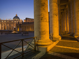 St. Peter's Basilica, Vatican, Rome, Lazio, Italy, Europe Photographic Print by Angelo Cavalli