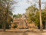 Ruins at Phimeanakas Temple, Angkor Temple Complex, UNESCO World Heritage Site, Siem Reap, Cambodia Photographic Print by Matthew Williams-Ellis