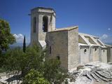 Notre-Dame-D'Alydon Church, Oppede-Le-Vieux, Petit Luberon, Provence, France, Europe Photographic Print by Rob Cousins