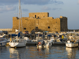 The Harbour and Paphos Fort, Paphos, Cyprus, Mediterranean, Europe Photographic Print by Stuart Black