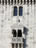 Balcony of Torre de Belem, UNESCO World Heritage Site, Belem, Lisbon, Portugal, Europe Photographic Print by Stuart Black