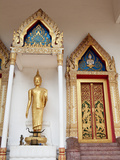 Buddhist Temple at Wat Mongkhon Nimit, Phuket Old Town, Phuket, Thailand, Southeast Asia, Asia Photographic Print by Lynn Gail