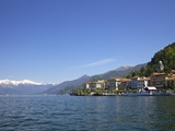 Spring Sunshine in Bellagio, Lake Como, Lombardy, Italian Lakes, Italy, Europe Photographic Print by Peter Barritt