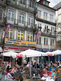 Restaurant in City Centre, Porto (Oporto), Portugal, Europe Photographic Print by Adina Tovy