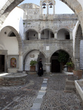 Hemitage Monastery of St. John Evangelist, UNESCO World Heritage Site, Patmos, Dodecanese, Greece Photographic Print by Oliviero Olivieri