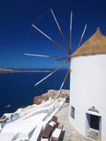 Oia, Santorini, Cyclades, Greek Islands, Greece, Europe Fotografisk tryk af Sakis Papadopoulos