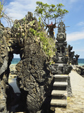 Pura Batu Bolong Temple, South of Senggigi, Lombok, Indonesia, Southeast Asia, Asia Photographic Print by Jochen Schlenker