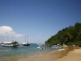 Lulas Beach Near Parati, Rio de Janeiro State, Brazil, South America Photographic Print by Yadid Levy