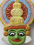 Mask of Kathakali Dancer, Kerala, India, Asia Photographic Print by Stuart Black