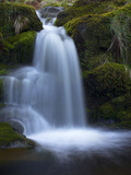 Waterfall, Glen Artney, Near Crieff, Perthshire, Scotland, United Kingdom, Europe Photographic Print by Jeremy Lightfoot