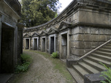Egyptian Avenue, Highgate Cemetery West, Highgate, London, England, United Kingdom, Europe Photographic Print by Ethel Davies