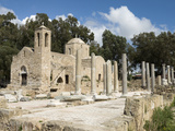 Agia Kyriaki and Church of Panagia Chrysopolitissa, UNESCO World Heritage Site, Cyprus Photographic Print by Stuart Black