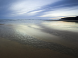 Beach Streams Leading to the Sea on Sandymouth Bay, Cornwall, England, United Kingdom, Europe Photographic Print by Ian Egner
