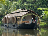 House Boat on the Backwaters, Near Alappuzha (Alleppey), Kerala, India, Asia Photographie par Stuart Black