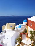 Oia, Santorini, Cyclades, Greek Islands, Greece, Europe Fotografisk tryk af Sakis Papadopoulos
