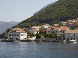 Houses on the Edge of the Bay of Kotor, Montenegro, Europe Photographic Print by Matthew Frost