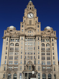 Liver Building, Pierhead, UNESCO World Heritage Site, Liverpool, Merseyside, England, UK, Europe Photographic Print by Rolf Richardson