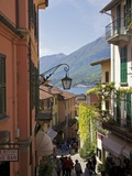 Backstreets of Bellagio, Lake Como, Lombardy, Italian Lakes, Italy, Europe Photographic Print by Peter Barritt