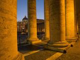 St. Peter's Basilica, Vatican, Rome, Lazio, Italy, Europe Photographic Print by Angelo Cavalli