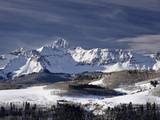 Mount Wilson in the Winter, Uncompahgre National Forest, Colorado, USA, North America Photographic Print by James Hager