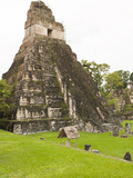 Tikal National Park (Parque Nacional Tikal), UNESCO World Heritage Site, Guatemala, Central America Photographic Print by Michael DeFreitas