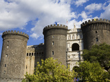 Maschio Angioino (Castle Nuovo), Naples, Campania, Italy, Europe Photographic Print by Richard Cummins