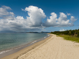 Pinney's Beach, Nevis, St. Kitts and Nevis, West Indies, Caribbean, Central America Photographic Print by Sergio Pitamitz