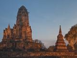 Old Buddhist Temple, Ayutthaya, UNESCO World Heritage Site, Thailand, Southeast Asia, Asia Photographic Print by Antonio Busiello