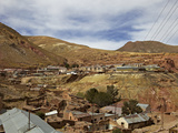 Old Mining Ghost Town of Pulacayo, Famously Linked to Butch Cassidy and Sundance Kid, Bolivia Photographic Print by Simon Montgomery