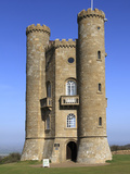 Broadway Tower, Cotswolds, Worcestershire, England, United Kingdom, Europe Photographic Print by Rolf Richardson