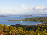 View over the South Coast of Grande Terre, New Caledonia, Melanesia, South Pacific, Pacific Photographic Print by Michael Runkel
