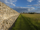 Burgh Castle, Great Yarmouth, Norfolk, England, United Kingdom, Europe Photographic Print by Charcrit Boonsom