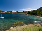 Le Bourg, Iles Des Saintes, Terre de Haut, Guadeloupe, French Caribbean, France, West Indies Photographic Print by Sergio Pitamitz