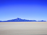 Salar de Uyuni Salt Flats and the Andes Mountains in the Distance, Bolivia, South America Photographic Print by Simon Montgomery