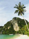 Ton Sai Bay, Ko Phi Phi, Krabi Province, Thailand, Southeast Asia, Asia Photographic Print by Jochen Schlenker