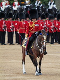 Soldiers at Trooping Colour 2012, Queen's Birthday Parade, Horse Guards, Whitehall, London, England Photographic Print by Hans-Peter Merten