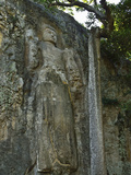 Buddha Image, Dhowa Rock Temple, Bandarawela, Sri Lanka, Asia Photographic Print by Jochen Schlenker