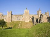 Curtain Wall and Ramparts of Framlingham Castle, Framlingham, Suffolk, England, UK, Europe Photographic Print by Ian Murray