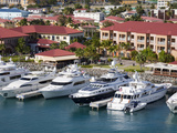 Yacht Haven Grande Marina, Charlotte Amalie, St. Thomas Island, U.S. Virgin Islands, West Indies Fotografie-Druck von Richard Cummins