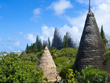 Tjibaou Cultural Center in Noumea, New Caledonia, Melanesia, South Pacific, Pacific Photographic Print by Michael Runkel