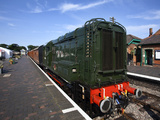 Class 08 Locomotive D3940 on the Poppy Line, North Norfolk Railway, at Sheringham, Norfolk, England Photographic Print by Mark Sunderland