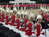 Soldiers at Trooping Colour 2012, Queen&#39;s Birthday Parade, Horse Guards, Whitehall, London, England Photographic Print by Hans-Peter Merten