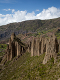 Valley of the Animals, Rock Formations on the Outskirts of La Paz City, La Paz, Bolivia Photographic Print by Phil Clarke-Hill