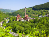Colliery Pit, Rhondda Heritage Park, Rhondda Valley, South Wales, United Kingdom, Europe Photographic Print by Billy Stock