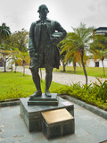Captain Francis Light Statue at Fort Cornwallis in Georgetown, Penang, Malaysia, Southeast Asia Photographic Print by Matthew Williams-Ellis