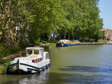 Near Locks of Fonserannes, Canal du Midi, UNESCO World Heritage Site, Beziers, Herault, France Photographic Print by  Tuul