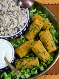 Mercimek Koftesi, Vegetarian Balls with Lentils, Turkish Food, Turkey, Eurasia Photographic Print by Nico Tondini